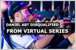 Daniel Abt disqualified from Race At Home Challenge virtual series