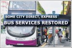 Some City Direct and Express bus services to resume from 2 June 2020