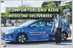 ComfortDelGro taxi drivers aid in delivery of medical supplies to homes