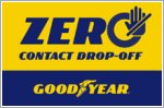 Goodyear's Zero Contact programme keeps you safe while you get new tyres