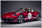 Porsche presents the 911 Targa 4S Heritage Edition