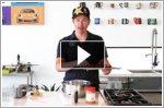 Volkswagen ambassador Tanner Foust demonstrates how to make a doughnut