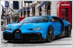 Bugatti Chiron Pur Sport continues its tour through Europe