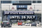 ERP stays suspended until 26 July 2020