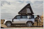 New roof tent option available for the Land Rover Defender