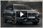 The new Cupra Ateca SUV unveiled