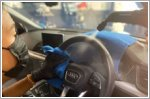 Lambency Detailing offers new car disinfection coating package