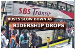 Slower buses a result of reduced ridership