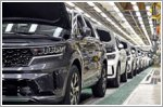 Kia begins production for the all new Sorento Hybrid