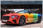 Bentelys reveals first rainbow-inspired Continental GT V8 Convertible