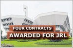 Four contracts worth a total of $682.5 million awarded for JRL
