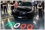 Lamborghini celebrates the 10,000th Urus