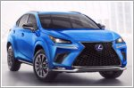 2021 Lexus NX F Sport receives Black Line special edition model