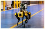 Ford experiments with four-legged robots to scout factories