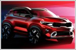 Kia releases official renderings of the all new Kia Sonet