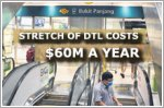 Bukit Panjang stretch of DTL costs $60m in subsidies a year