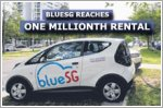 BlueSG reaches one millionth rental