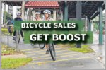 Bicycle sales get boost from COVID-19 pandemic