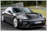 New Porsche Panamera achieves lap record on the Nurburgring