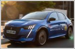 Peugeot e-208 win Ignitis ON electric car competition in Lithuania