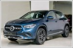 The Mercedes-Benz GLA now available in Singapore