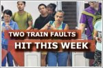 Train faults hit North-South and East-West MRT lines