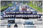 Segment of PIE to have added road safety features
