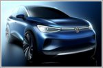 Official sketches of the Volkswagen ID.4 reveal efficiency-driven design
