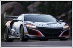 Acura NSX sets Pikes Peak production hybrid record