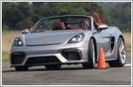 Porsche achieves fastest vehicle slalom record
