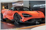 The new McLaren 765LT officially introduced in Singapore