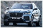 The Jaguar F-PACE receives an update