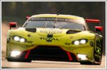 Aston Martin qualifies on second row for Le Mans