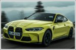 BMW presents the M3 and M4 alongside their Competition variants