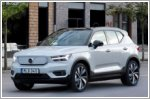 Volvo starts production of the XC40 Recharge