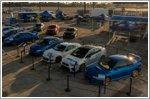 Subaru attempts largest parade of same-make vehicles