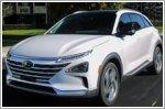Hyundai commemorates hydrogen powered cars