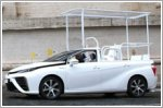 Toyota gifts a Mirai to the Pope