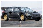 Subaru reveals gymkhana WRX STI