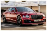 Performance showcase for Bentley at Goodwood