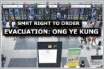 SMRT made correct call to evacuate passengers: Ong Ye Kung