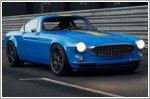 Volvo reveals more pictures of the P1800 Cyan