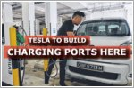 Tesla to build EV charging network in Singapore