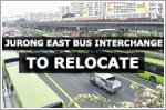 Jurong East bus interchange to be relocated from 6 December