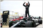 Lewis Hamilton clinches his seventh Formula One drivers' title