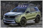 Kia unveils two rugged X-Line Sorento concepts