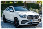 Mercedes releases the new GLE450 4MATIC and GLE53 4MATIC+ Coupe in Singapore