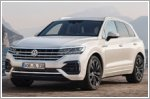Parking the Volkswagen Touareg with your phone