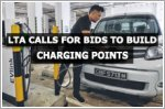 LTA calls for bids to build 600 electric vehicle charging points in 200 carparks