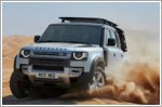 The Land Rover Defender 110 gets a five star Euro NCAP rating
